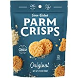 ParmCrisps, Original, 100% Cheese Crisps, Keto Friendly, Gluten Free, 1.75 Ounce Bag, Pack of 12