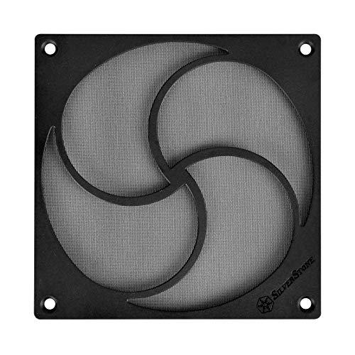 SilverStone Technology HiFlow Magnetic 120mm Fan Filter FF125 (120 Mm Fan Filter)