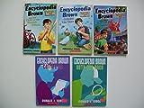 Encyclopedia Brown (5 Set) Case of Secret Pitch; Cracks Case; Carries On; Sets Pace; Carnival Crime