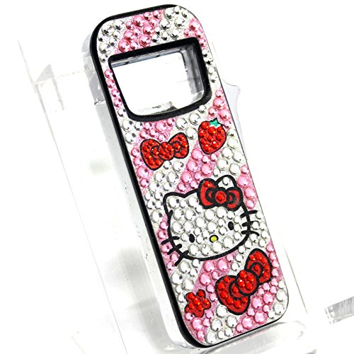 B17 Hello Kitty S2 Refillable Butane Lighter - Bottle Opener - Blue LED Light - (Lighter Opener)