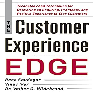 The Customer Experience Edge Audiobook
