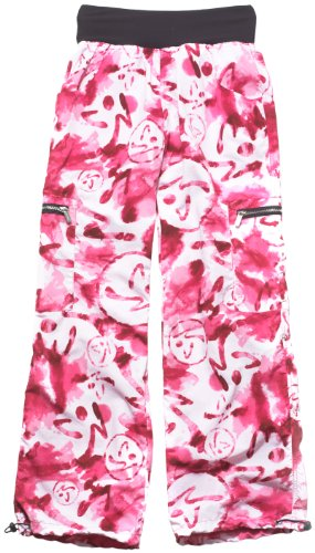 Zumba Women's Marvelous Cargo Pants (Raspberry, X-Small)