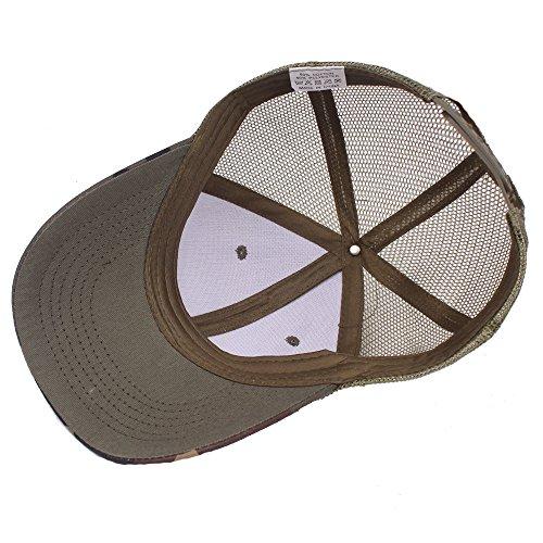 Deporte Tapa al C de béisbol de para rejilla para Sol hombre jungla Mujer Primavera Unisex Retro de Libre Gorra Sombrero Hat Verano de Ocio Gorra Hombre Aire O6xqwdH6