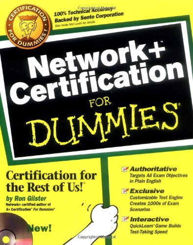 Network + Certification For Dummies?