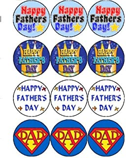 Cup Cake Toppers For Super Daddys