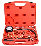 DASBET 0-140PSI Fuel Injector Injection Pump Pressure Tester Gauge Kit Car Tools