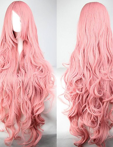Beauty Fashion Wigs Long Wave WigsLight Anime Cosplay Wigs Hatsune Miku (Harley Quinn Costume Commission)