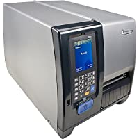 Intermec PM43A11000050401 Series PM43 TT Desktop Printer, 406 DPI, Touch Interface, Serial, USB, Ethernet, Full Rewinder, Fixed Hanger, US Power Cord