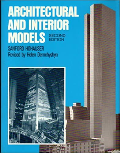Book Architectural and Interior Models by Sanford Hohauser (1984-12-30)