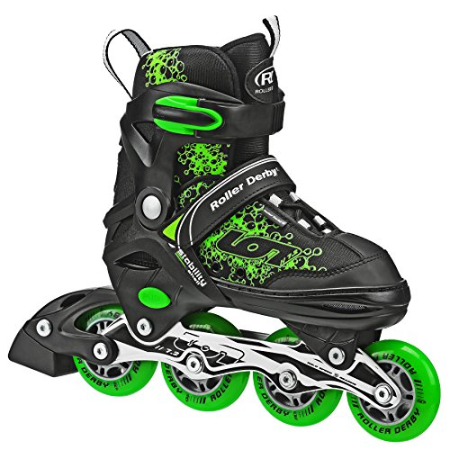 Roller Derby I145B-M Boys ION 7.2 Adjustable Inline Stake (Boys In Line Skates)