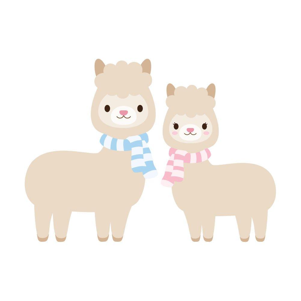 【返品送料無料】 Adorable Llama Couple – ビニールデカール屋内または屋外の使用 4、車、ノートパソコン、飾り Couple Adorable、Windows、and More 4 Inch llama-couple4 4 Inch B07B1QC3V1, 米こうじ味噌甘酒のかわばたみそ:9ecdb015 --- a0267596.xsph.ru