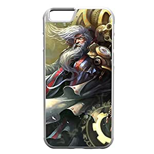 Zilean-004 League of Legends LoL case cover for Apple iPhone 6 Plus - Rubber White