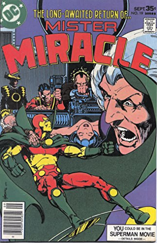 Mister Miracle (1st Series) #19 VG ; DC comic book