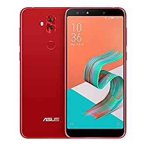 ASUS ZenFone 5Q (ZC600KL) 4GB/64GB 6.0-inches Dual SIM Factory Unlocked - International Stock No Warranty (Rouge Red)