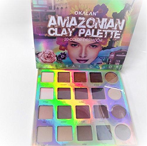 Okalan Makeup Amazonian clay palette 20-Color Eyesharow
