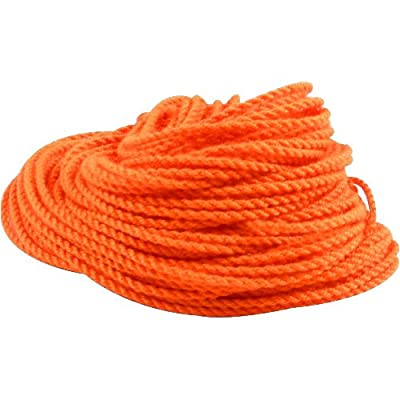 Genuine Zeekio Yo-yo Strings - (1) Ten Pack of 100% Polyester Yo-Yo String- Neon Orange: Toys & Games