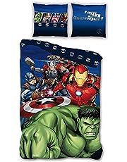 AYMAX All Members Avengers Single Duvet Cover Set - Marvel - 140cm x 200cm