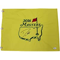 $102 » Danny Willett Autographed Signed 2016 Masters Tournament Pin Flag - Minor Smudge on Signature - JSA Authentic
