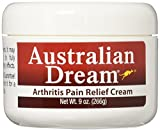 Australian Dream Arthritis Pain Relief Cream effectively relieves minor arthritis pain, simple backache, strains, sprains and bruises without the unpleasant qualities of many other pain relievers.