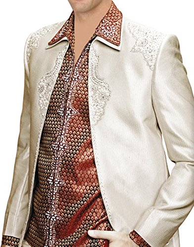 INMONARCH para hombre tradicional camisa cuello funda 3 pc ...