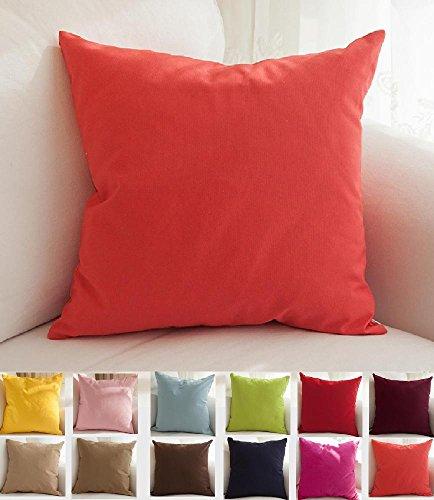 tangdepot cotton canvas throw pillow cover   handmade