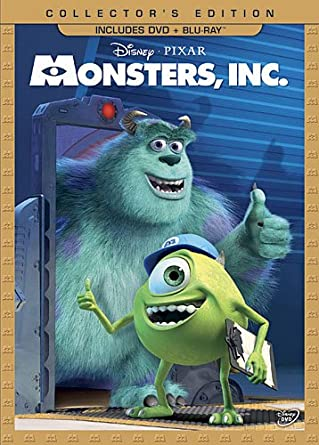 Amazon Com Monsters Inc Three Disc Collector S Edition Blu Ray Dvd Combo In Dvd Packaging John Goodman Billy Crystal James Coburn Steve Buscemi Mary Gibbs Bob Peterson Jennifer Tilly Bonnie Hunt Frank Oz John Ratzenberger Daniel