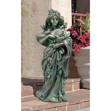 Gaia Mother Earth statue home garden nature sculpture New (The Digital Angel)