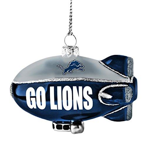 NFL Detroit Lions Glitter Blimp Ornament