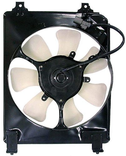 A/C Condenser Fan Assembly - Cooling Direct For/Fit HO3115129 06-11 Honda Civic Sedan Coupe 1.8L
