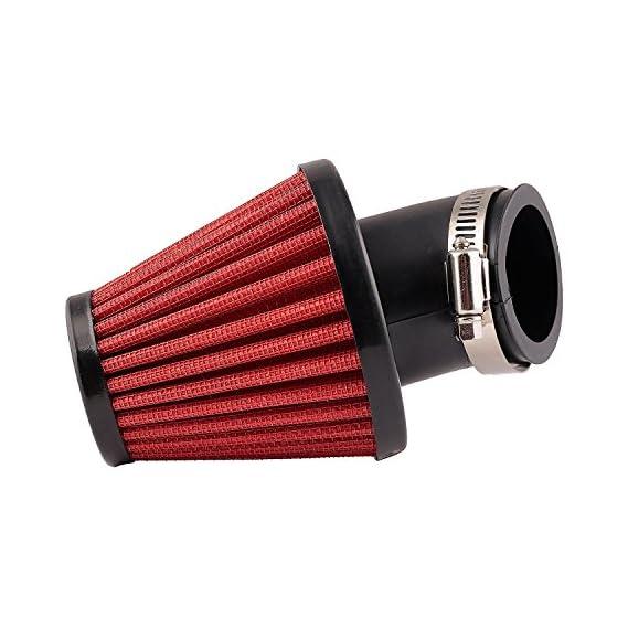 Auto Hub High Performance Bike Air Filters - Red