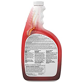 Diversey Spitfire Professional All Purpose Power Cleaner and Degreaser - back of bottle