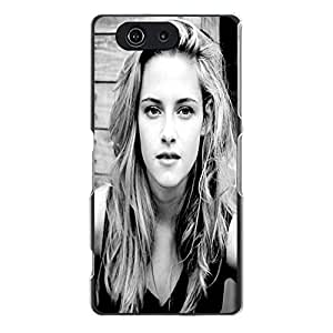 Sony Xperia Z3 Compact Z3 mini Phone Case Kristen Stewart Attractive Girl Fancy Back Cover