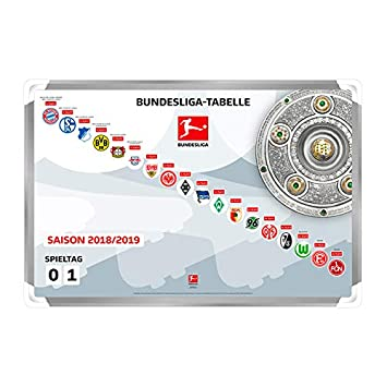 Dfl 1 Bundesliga Magnettabelle 2018 2019