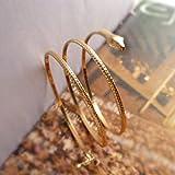 Mode enroulé Serpent spirale Haut du bras Brassard Brassard Bracelet