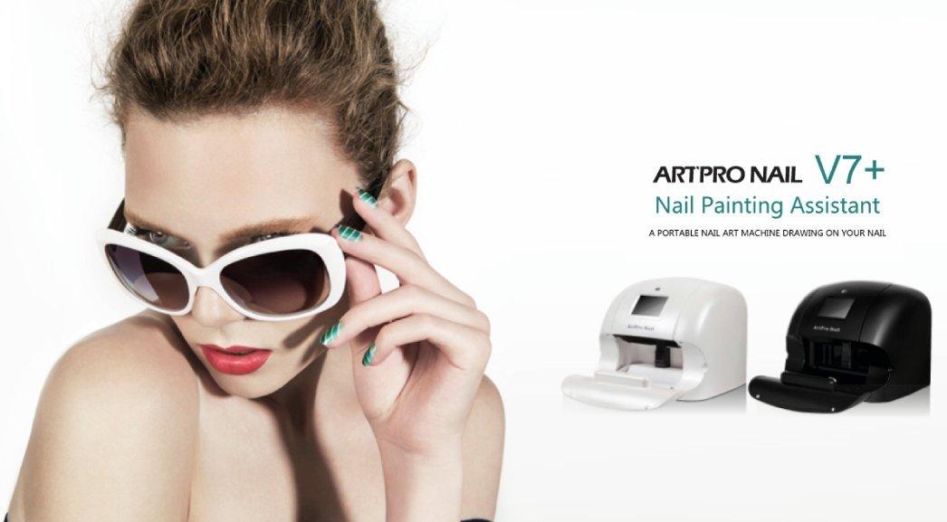 Impresora portátil para uñas ArtPro-Nail Blanca + Kit de inicio ...