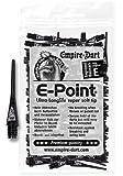 100 EMPIRE E-Point pointes de fléchettes 2 BA longues (noir)
