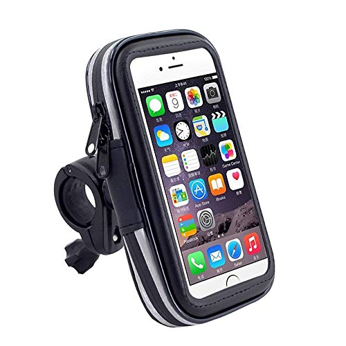 DFV mobile - Professional Reflective Support for Bicycle Handlebar and Rotatable Waterproof Motorcycle 360 º for => Huawei Honor 7S > Black -  DF-SM-PLS-RFL-C1-241