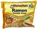Maruchan Flavor Ramen Noodles, Roast Chicken, 3 Ounce (Pack of 24)