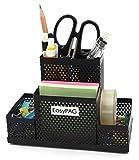 EasyPAG Mesh Desk Accessories Organizer Office Supplies Pen Holder, Black