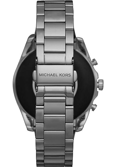 Michael Kors Access Bradshaw Gen 5 MKT5087 - Grijs: Amazon ...