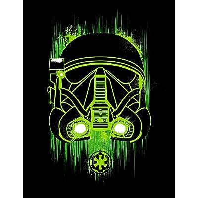 "Star Wars Rogue One Stormtrooper Plush Fleece Blanket Throw, 46"" X 60"""