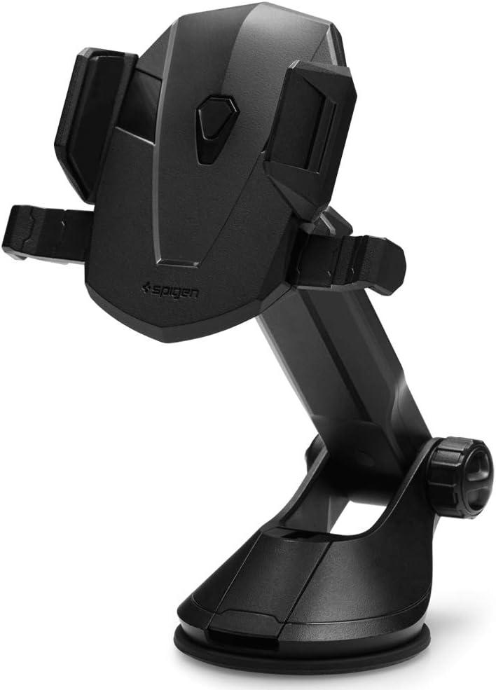Spigen Kuel TS35 OneTap Car Phone Mount Car Phone Holder Compatible with Most Smartphones - Black