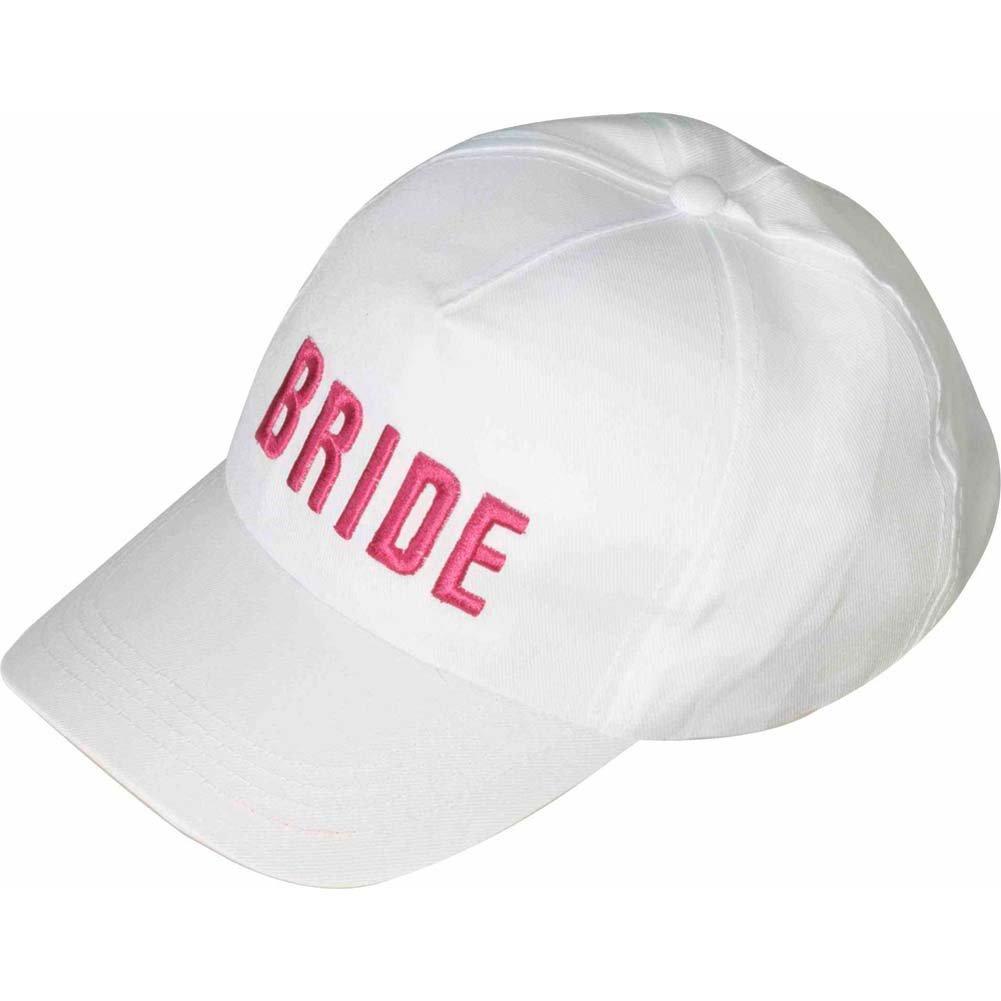 Forum Novelties Inc. - Gorra de béisbol para novia, color blanco ...