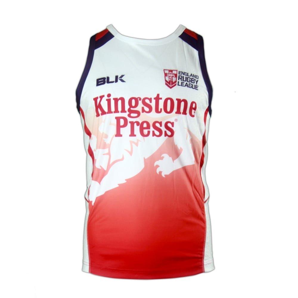 England Rugby League Shirt Junior - PostParc