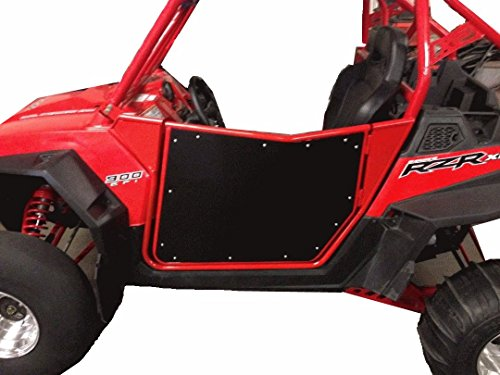 Bear Claw V2 Red/Black Doors for Polaris RZR by UTVGiant