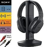 Amazon Com Sennheiser Rs120 On Ear Wireless Rf Headphones