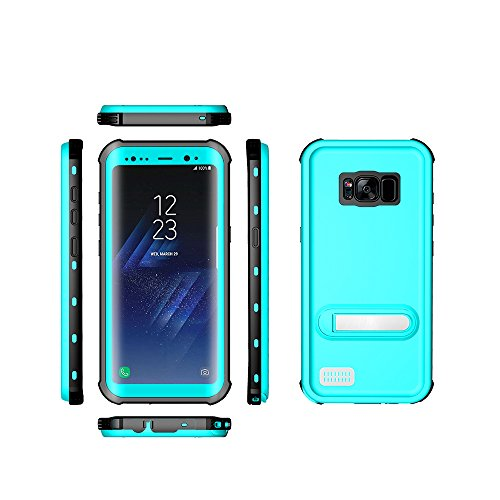 Samsung Galaxy S8 Plus Waterproof Case, Ultra Light Waterproof Shockproof Dirtproof Diving Phone case for Samsung Galaxy S8 Plus (Blue)