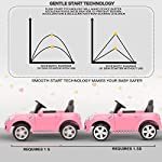 YASHAV – Cabrio Baby Toy Car Rechargeable Battery Operated Ride on car for Kids/Baby with R/C Jeep Children Car Electric Motor Car Kids Cars,Baby Racing Car for Boys & Girls( Pink )