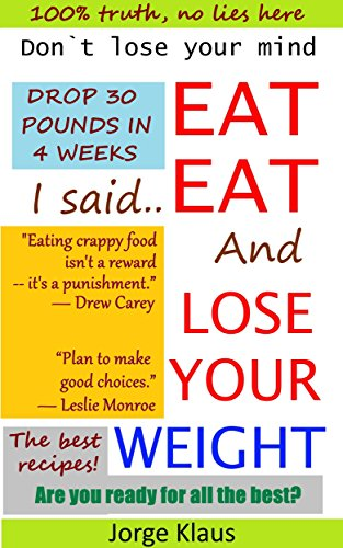 Eat Live Amazing Weight Pounds ebook product image