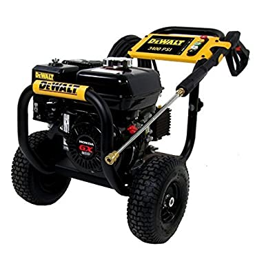 DeWalt DXPW3425 Professional 3400 PSI (Gas Cold Water) Pressure Washer w/ Honda Engine